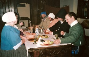 17C Household At Table